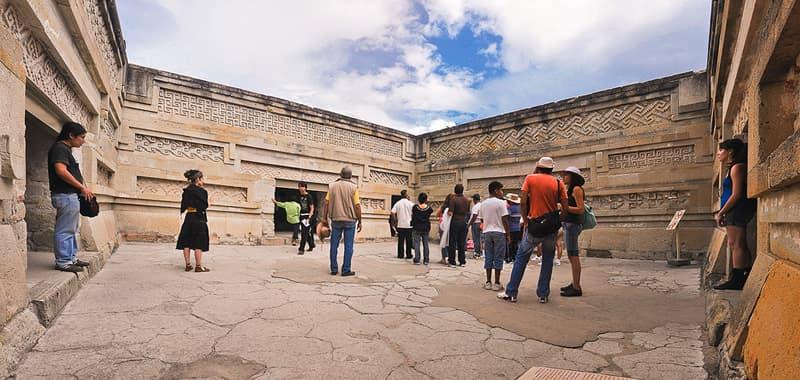 Ruinas Zapotecas, Arquitectura Zapoteca, Mitla